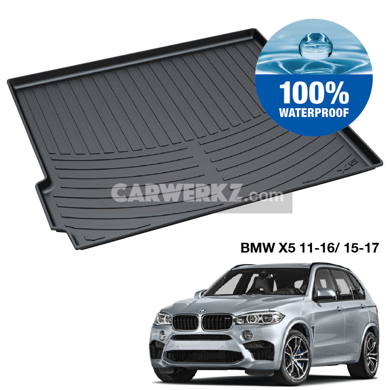 BMW X5 2011-2013 2nd Generation (LCI) E70 TPO Boot Tray - CarWerkz