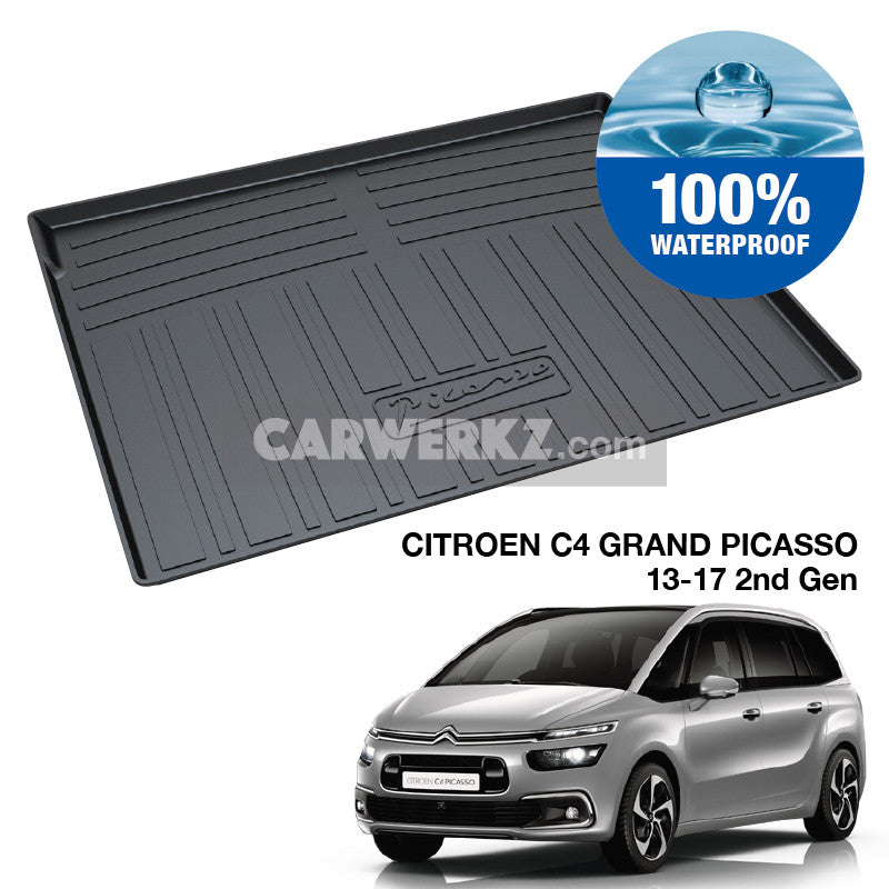 Citroen C4 Grand Picasso 2013-2017 2nd Generation TPO Boot Tray - CarWerkz