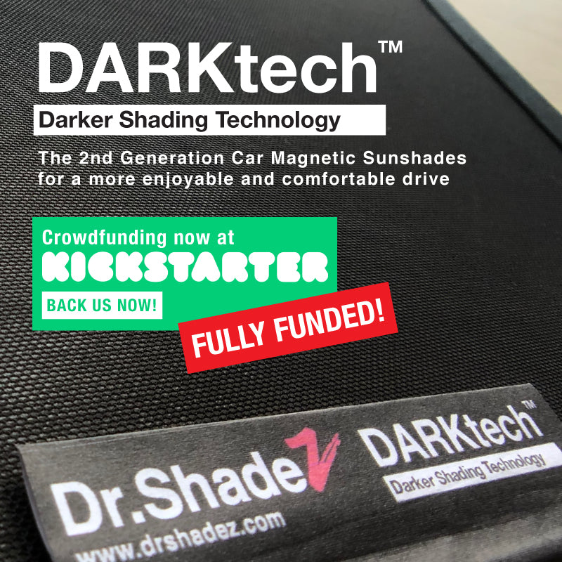 DARKtech Subaru Forester 2019-Current 5th Generation (SK) Japanese Subcompact Crossover SUV Customised SUV Window Magnetic Sunshades - carwerkz singapore japan australia united kingdom kickstarter funded products