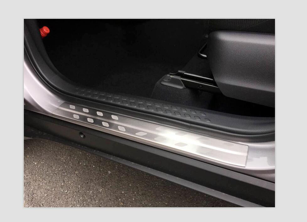 Toyota C-HR 2016-2017 Side step Scuff Plate 4Pcs - CarWerkz