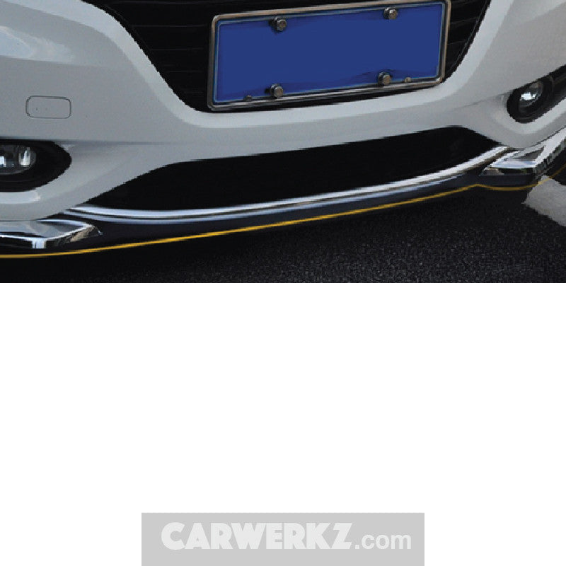 Honda Vezel HR-V 2013-2017 Front And Rear Sill Trimming Chrome - CarWerkz
