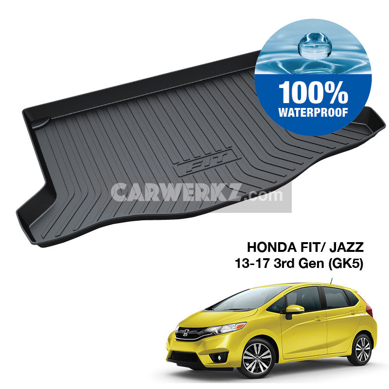 Honda Fit Jazz 2014-2017 3rd Generation (GK5) TPO Boot Tray - CarWerkz
