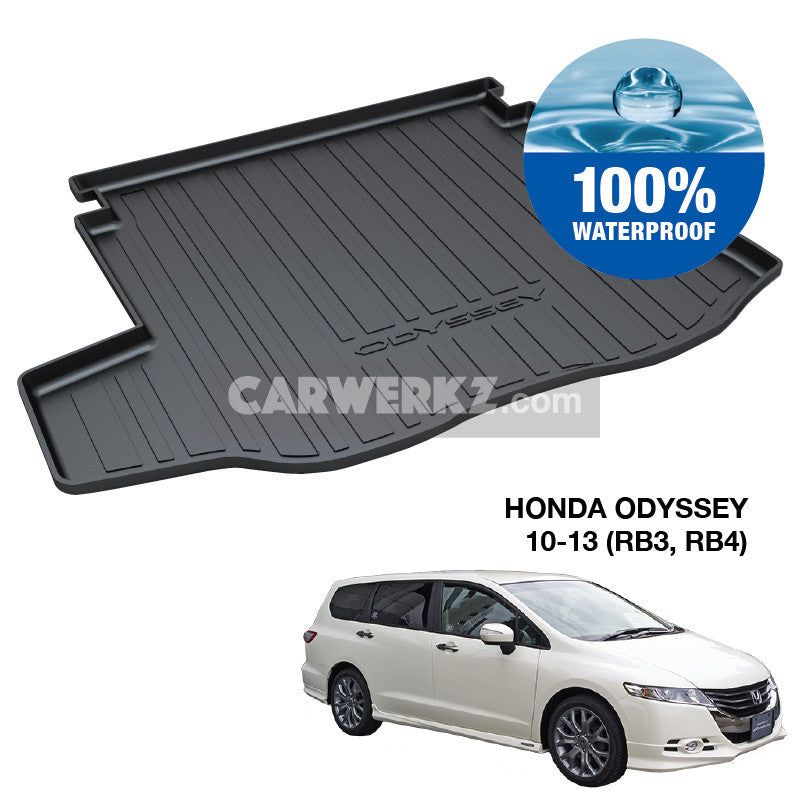 Honda Odyssey 2010-2013 4th Generation (RB3 RB4) TPO Boot Tray - CarWerkz