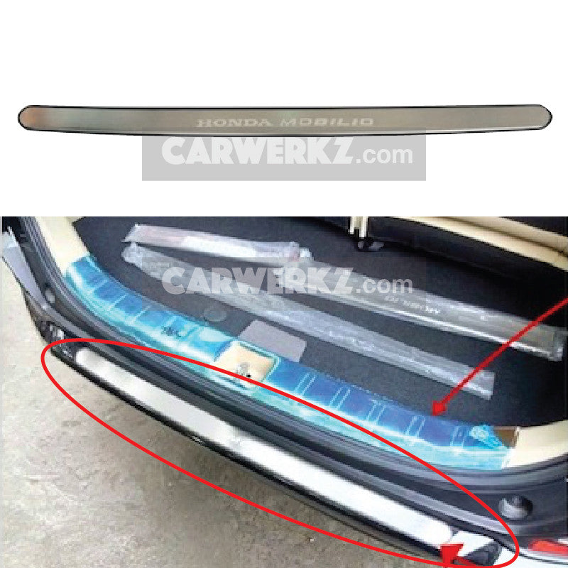 Honda Mobilio 2014-2017 2nd Generation (DD) Outer Rear Bumper Footplate - CarWerkz