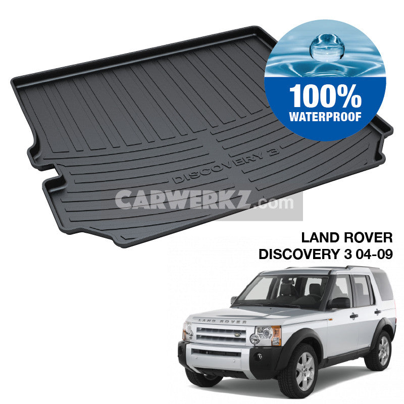 Land Rover Discovery 3 2004-2009 2nd Generation (L319) TPO Boot Tray - CarWerkz