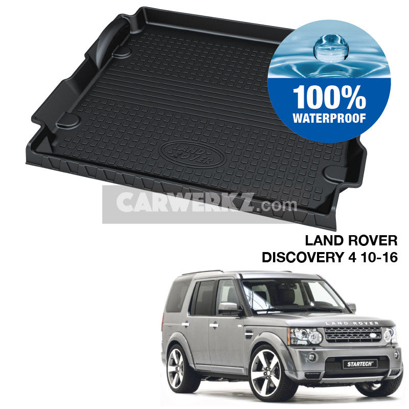 Land Rover Discovery 4 2012-2016 2nd Generation (L319) SUV Trunk Perfect Moulded Ultra Durable TPO 3D Boot Tray - CarWerkz