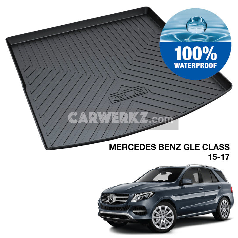 Mercedes Benz GLE Class 2011-2017 3rd Generation (W166) TPO Boot Tray - CarWerkz