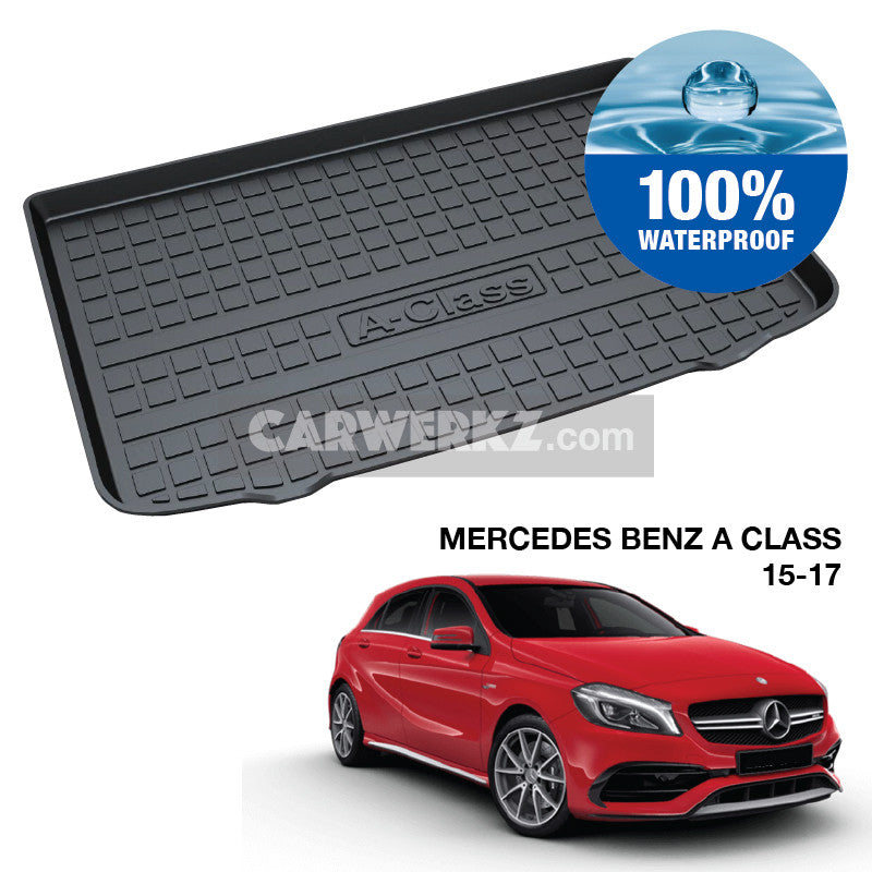 Mercedes Benz A Class 2015-2017 3rd Generation (W176) TPO Boot Tray - CarWerkz