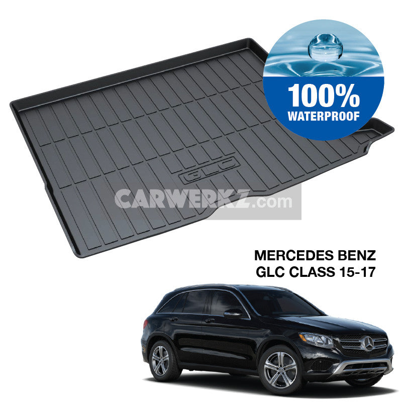Mercedes Benz GLC Class 2016-2017 1st Generation TPO Boot Tray - CarWerkz