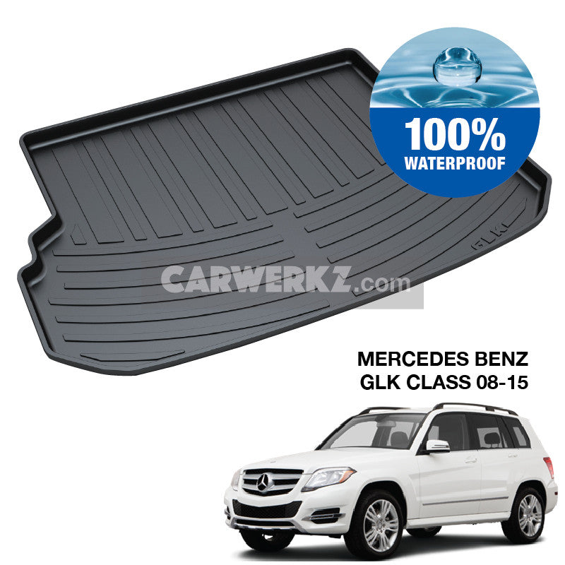 Mercedes Benz GLK Class 2008-2015 1st Generation (X204) Trunk Perfect Moulded Ultra Durable TPO 3D Boot Tray - CarWerkz