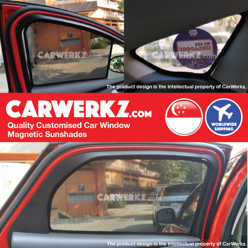 Ford Focus Sedan Mark 3 2011-2018 3rd Generation America Customised Car Window Magnetic Sunshades - CarWerkz