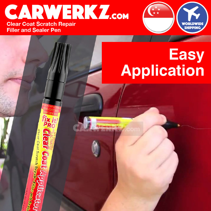 Clear Coat Scratch Repair Filler and Sealer - CarWerkz
