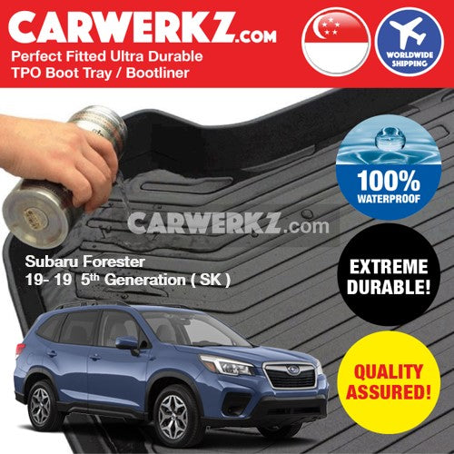 Subaru Forester 2019 5th Generation (SK) Ultra Durable TPO Boot Tray Bootliner