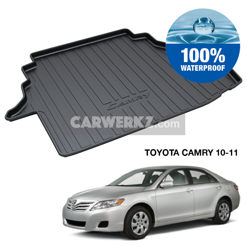 Toyota Camry 2006-2012 10th Generation (XV40) Japan Executive Sedan Customised Car Trunk Perfect Moulded Ultra Durable TPO 3D Boot Tray - CarWerkz