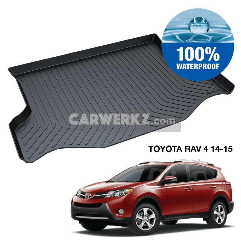 Toyota Rav 4 2014-2015 4th Generation (XA40) TPO Boot Tray - CarWerkz