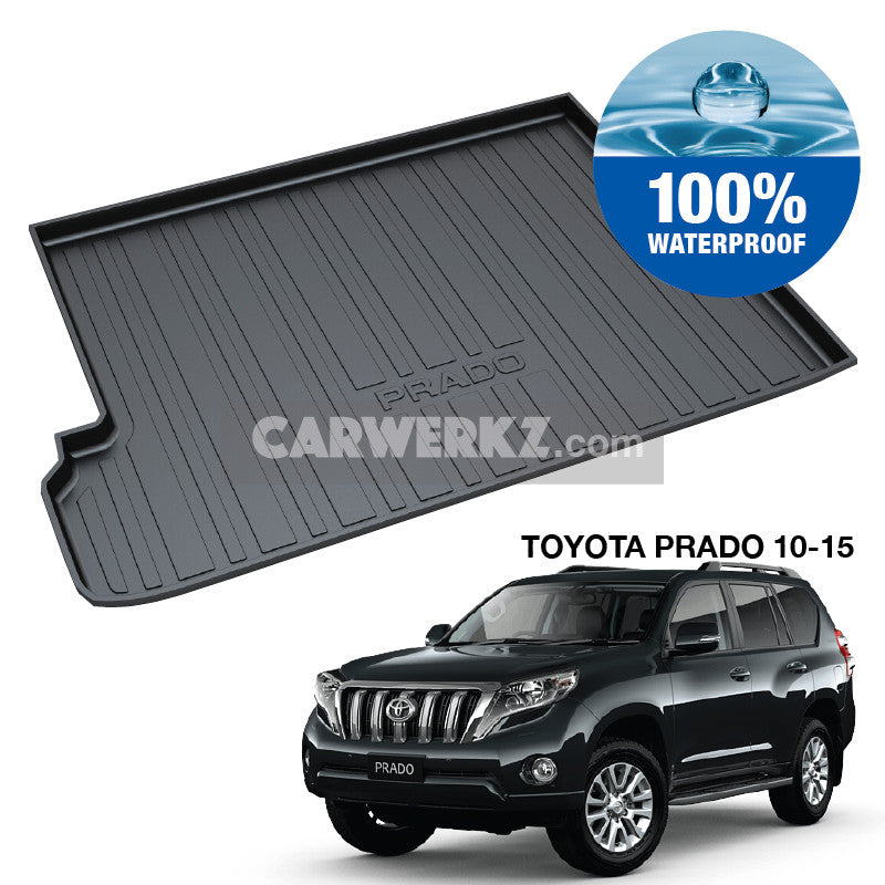 Toyota Prado 2010-2015 4th Generation TPO Boot Tray - CarWerkz