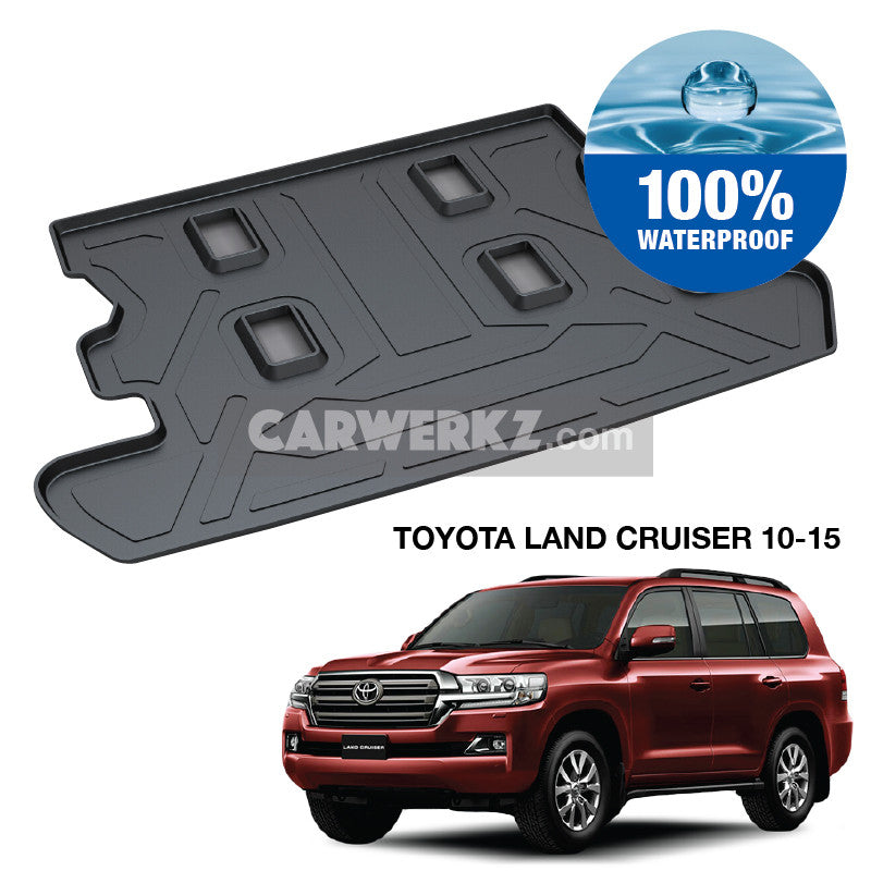 Toyota Land Cruiser 2007-2016 (J200) TPO Boot Tray - CarWerkz