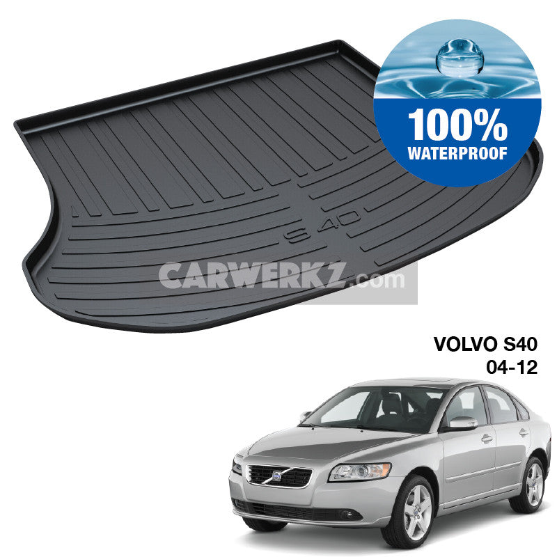 Volvo S40 2004-2012 2nd Generation TPO Boot Tray - CarWerkz