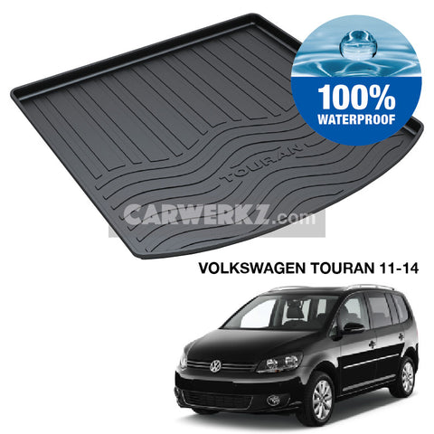 Volkswagen Touran 2011-2014 1st Generation (2nd Facelift) TPO Boot Tray
