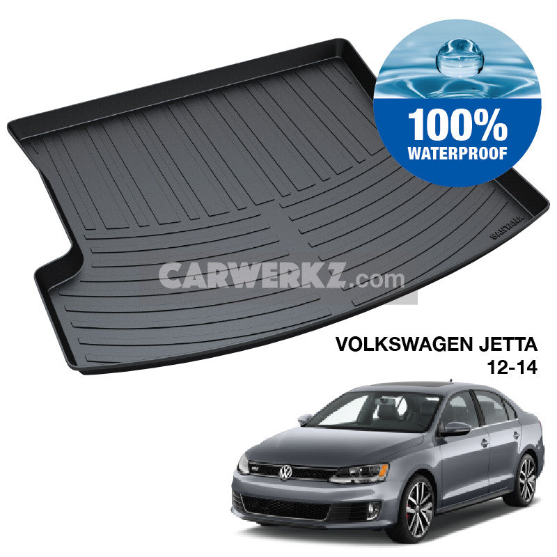 Volkswagen Jetta 2012-2017 6th Generation (MK6) TPO Boot Tray - CarWerkz