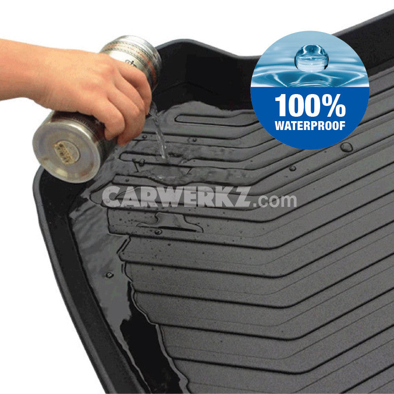 Toyota Prado 2010-2015 4th Generation Trunk Perfect Moulded Ultra Durable TPO 3D Boot Tray - CarWerkz