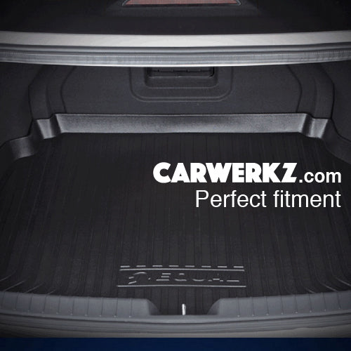 Subaru Forester 2019 5th Generation (SK) Perfect Fitting Most Durable TPO Boot Tray Perfect Fitting Fitment - CarWerkz