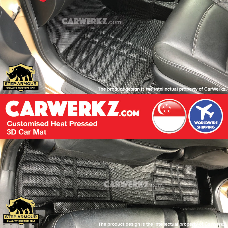 STEP ARMOUR™ Toyota Wish 2010-2018 2nd Generation (AE20) Japan MPV Customised 3D Car Mat - CarWerkz
