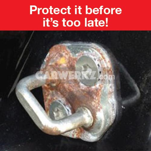 Toyota Round Door Latch Protector Cover 4 Pieces