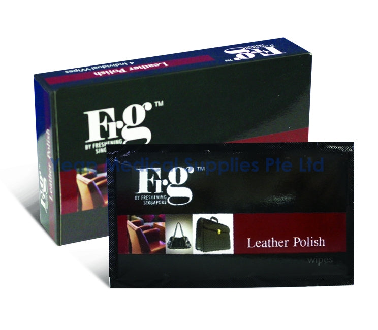 FRG Leather Polish Wipes 4s - CarWerkz