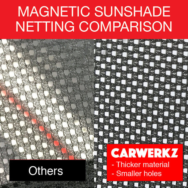 BMW X1 2009-2015 (E84) SUV Sport Utlity Vehicles Car Accessories 1st Generation Customised Car Accessories Window Magnetic Sunshades 8 Pieces netting fabric comparison