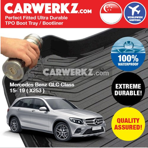 Mercedes Benz GLC Class 2016-2019 1st Generation Ultra Durable TPO Boot Tray Bootliner