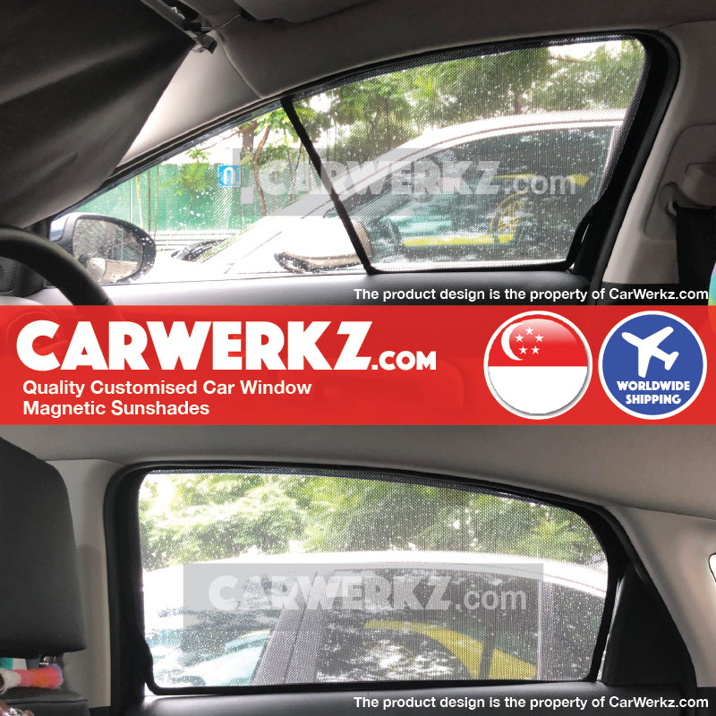 Kia Cerato Forte 2019-2020 3rd Generation (BD) Korea Sedan Customised Car Window Magnetic Sunshades
