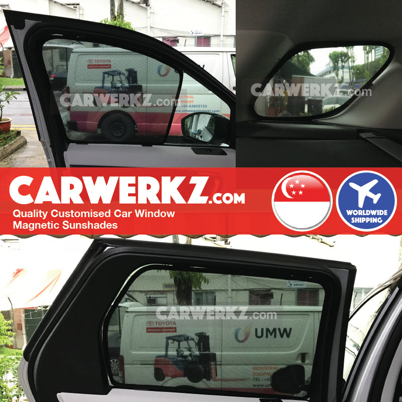 Land Rover Discovery Sport 2014-2020 1st Generation (L550) United Kingdom Mid Size SUV Customised Car Window Magnetic Sunshades