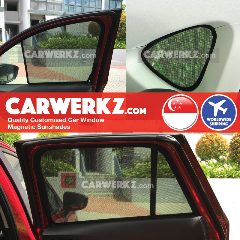 Mazda CX-5 2012-2017 1st Generation (KE) Japan Compact Crossover Customised Car Window Magnetic Sunshades 6 Pieces - CarWerkz