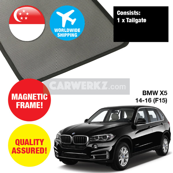 BMW X5 2014-2018 3rd Generation (F15) Rear Tailgate Sunshade 1 Piece