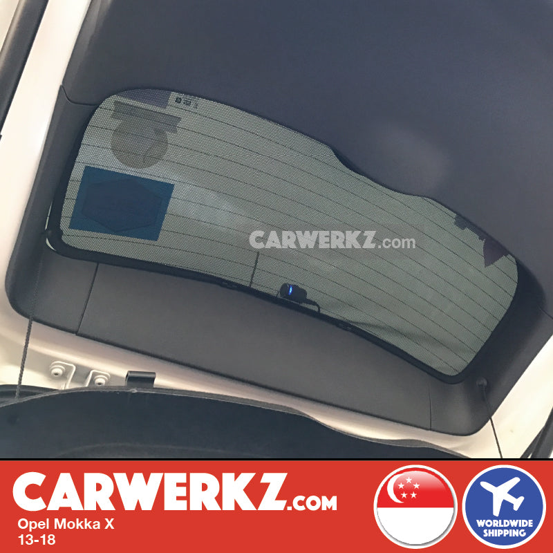 Opel Mokka X Vauxhall Buick Encore 2013-2020 Germany Automotive Customised Car Window Magnetic Sunshades - CarWerkz