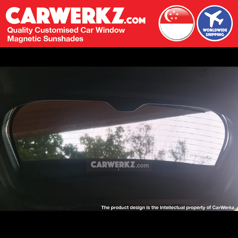 Subaru Forester 2019 5th Generation (SK) Japanese Subcompact Crossover SUV Customised SUV Window Tailgate Sunshade 1 Piece - CarWerkz