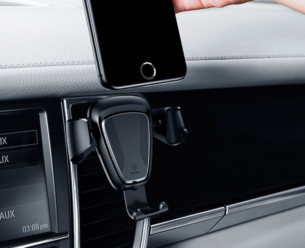 Baseus Gravity Car Mount Black - CarWerkz
