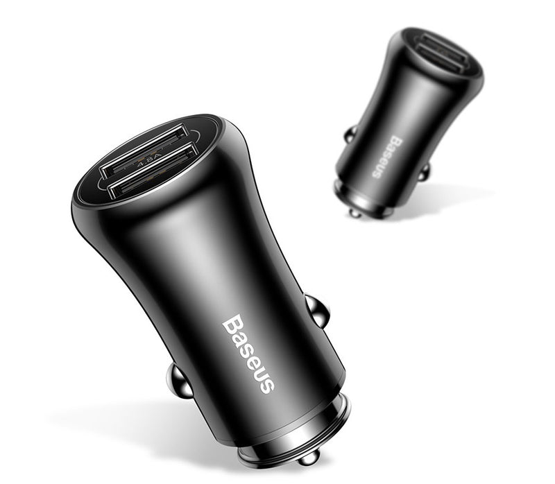 Baseus Gentleman 4.8A Dual USB Car Charger