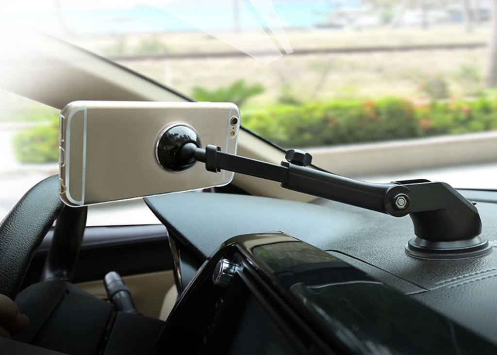 Baseus Mechanical Era Car Mount Silver - CarWerkz