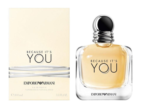 Giorgio Armani Emporio Armani Because It's You EdP 3.4oz / 100ml