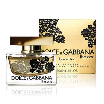 Dolce & Gabbana The One Lace Edition EdP 2.5oz / 75ml