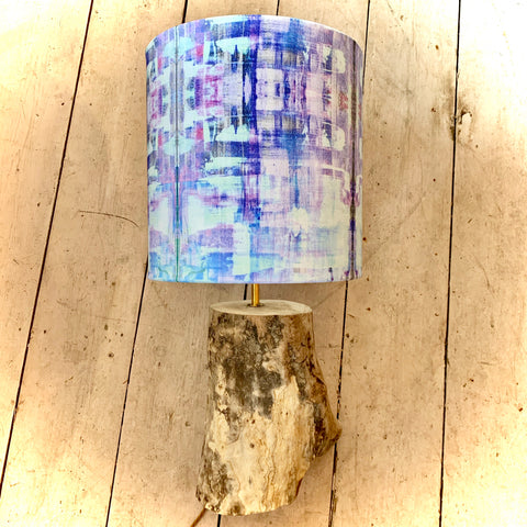 Statement Lamp 'Lavender Fields' Collection