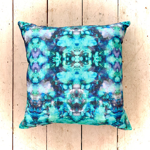 Cushion 'The Turquoise Inks' Collection