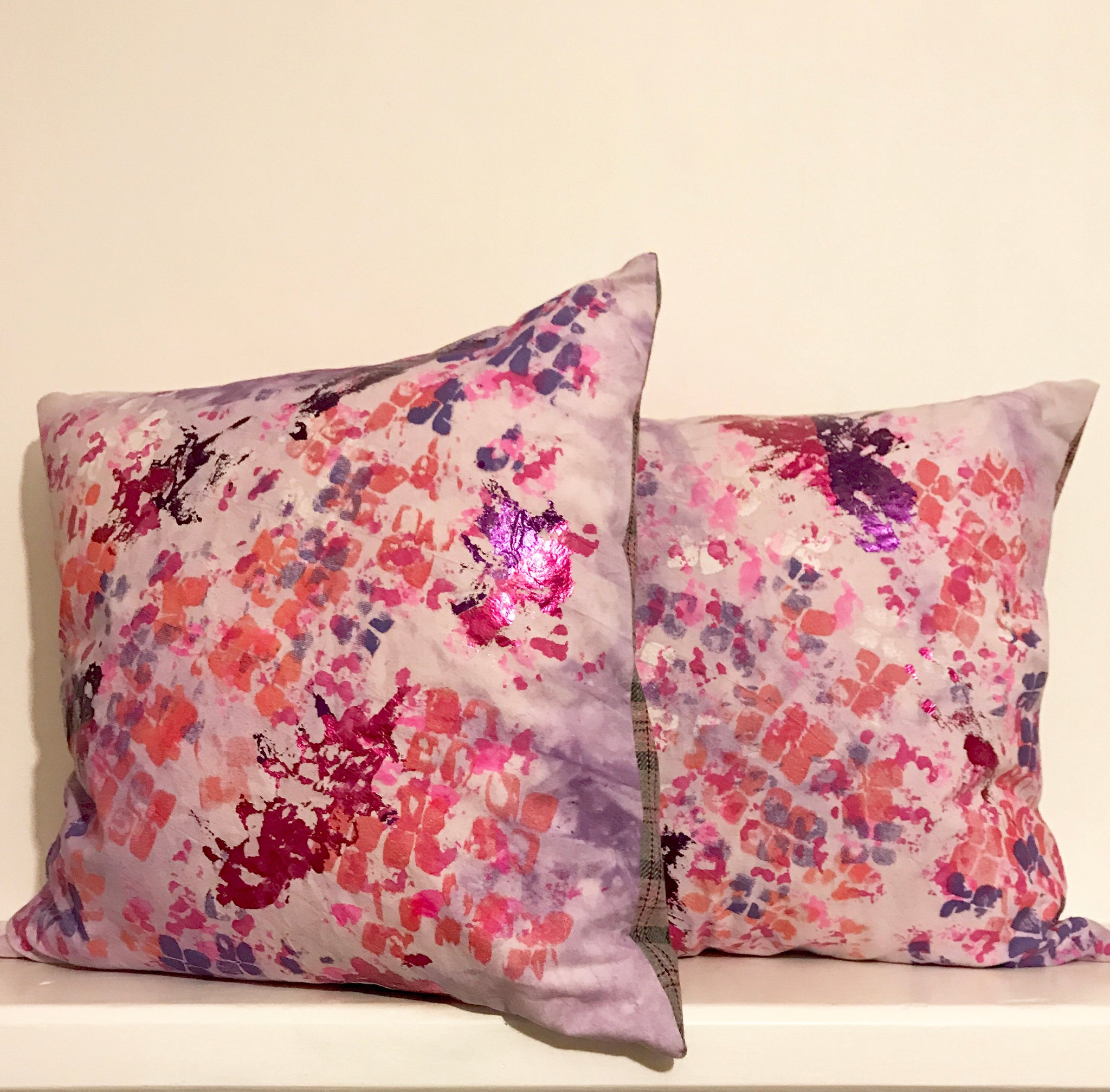 Cushion 'Hydrangea' Collection Screen Printed