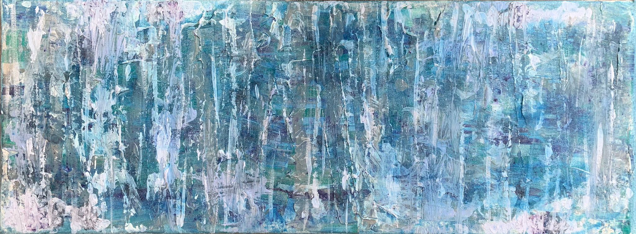Original Mixed Media Artwork on Canvas 'Storms Coming'