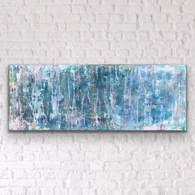 Storms Coming- Original Mixed Media Artwork on Canvas