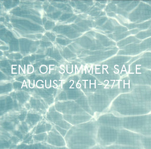 End of SUMMER SALE & Sunday FLEA-MARKET // 26 & 27th Aug