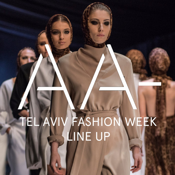 TEL AVIV FASHION WEEK LINE UP
