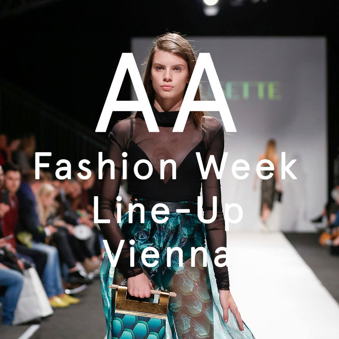VIENNA FASHION WEEK LINE-UP